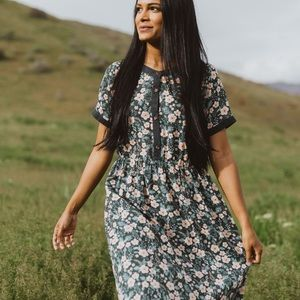 Floral Retrospect Dress - Piper and Scoot